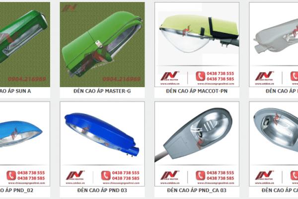 Các mẫu đèn cao áp chất lượng cao