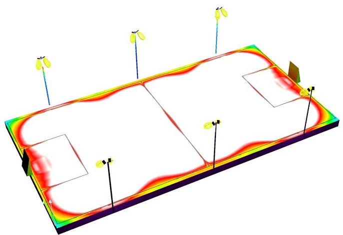 Những thông số kỹ thuật sẽ giúp bạn có cái nhìn tổng quan hơn về sản phẩm cột đèn sân bóng Tennis của chúng tôi