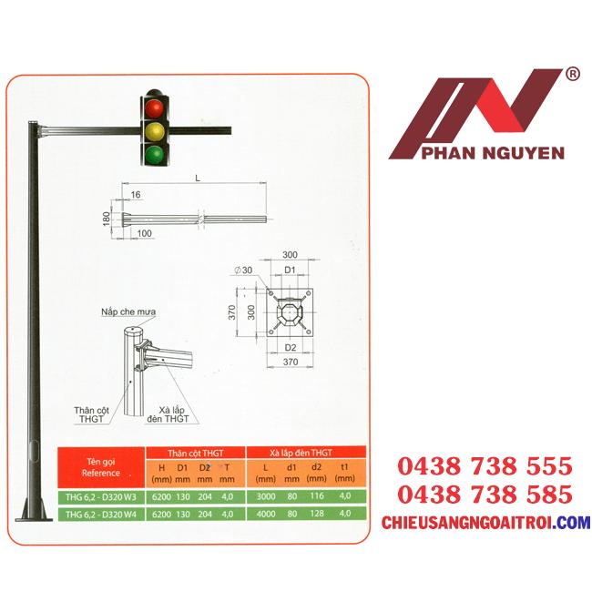 Cột đèn tín hiệu giao thông PN05 - chất lượng