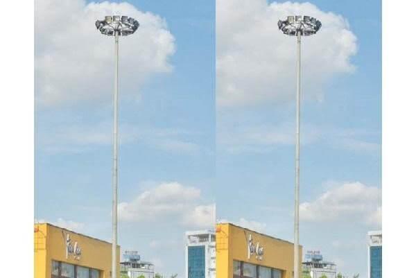 Cột đèn giàn nâng hạ 20m 25m 30m được ứng dụng nhiều trong cuộc sống