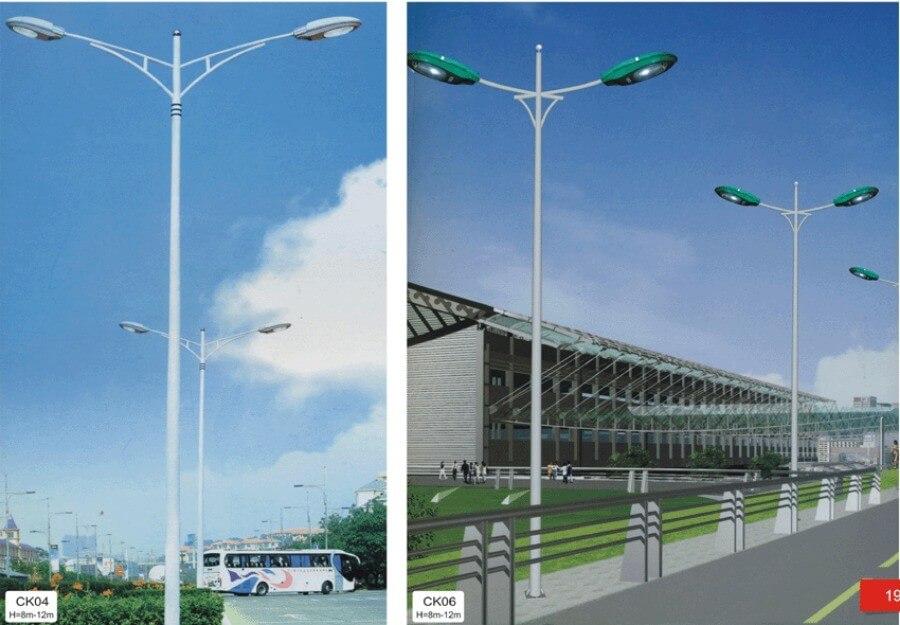 Đèn cao áp PND Z28 được sử dụng trên khắp tuyến phố, Khu chế xuất