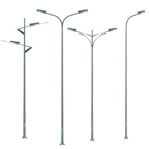 Cột đèn cao áp được sản xuất từ hợp kim nhôm