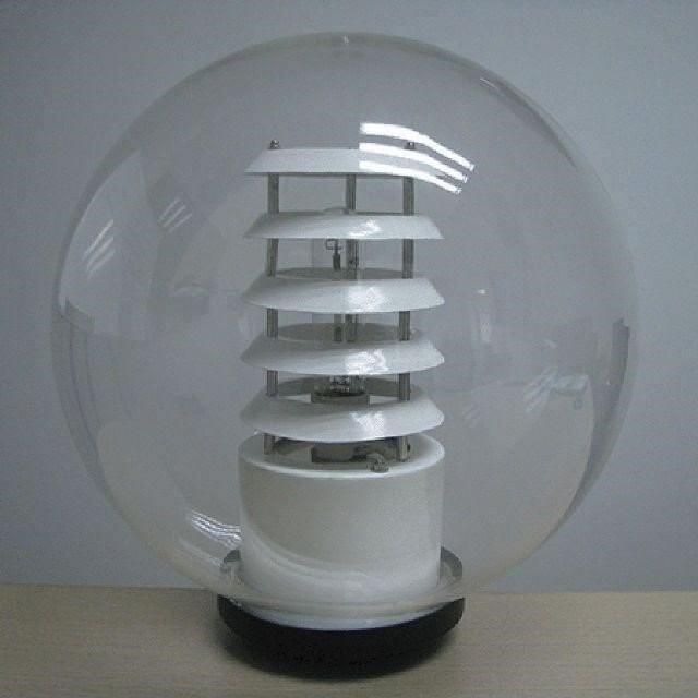 Sản phẩm đèn cầu PMMA D400 tán quang