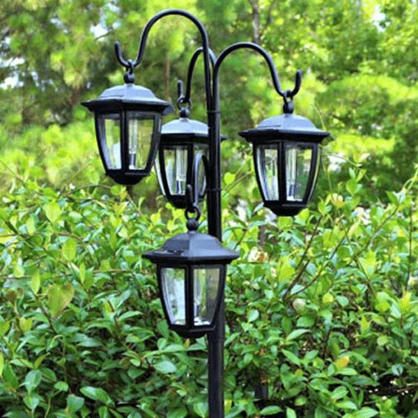 Mẫu đèn chùa chiếu sáng sân vườn