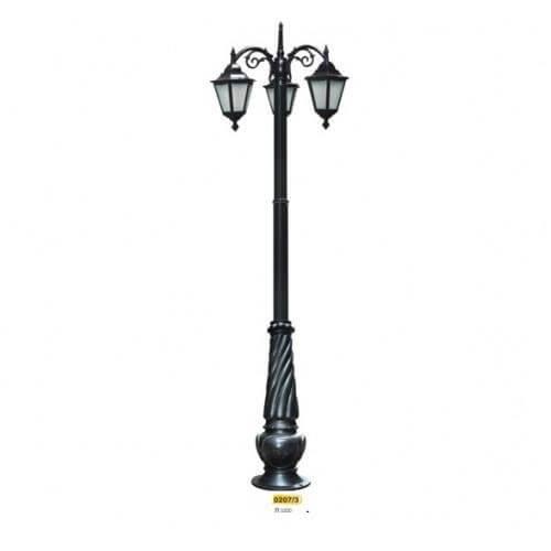 Dạng đèn treo cột chiếu sáng có khả năng thích nghi mọi không gian