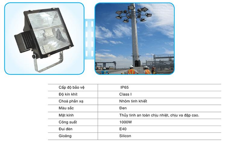 Đèn pha cao áp PN 03