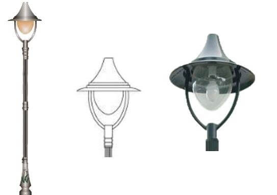 Chi tiết sản phẩm đèn trang trí sân vườn Miria
