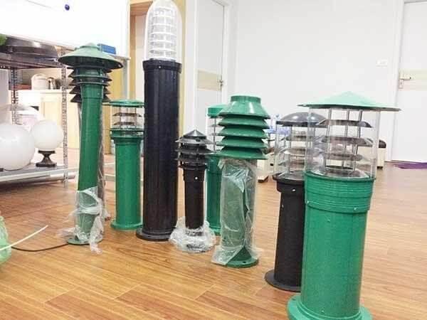 Các mẫu sản phẩm đèn sân vườn PN Feria