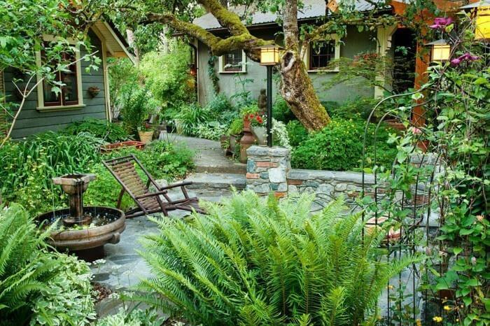 Đèn sân vườn đem đến ánh sáng lung linh (ảnh minh họa)