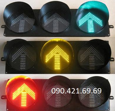 Đèn tín hiệu mũi tên xanh, đỏ, vàng