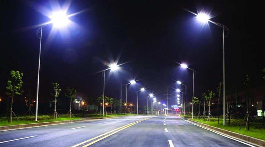 Đèn đường Led tiết kiệm điện năng lên đến 80% - Tuổi thọ chiếu sáng đạt 50000h