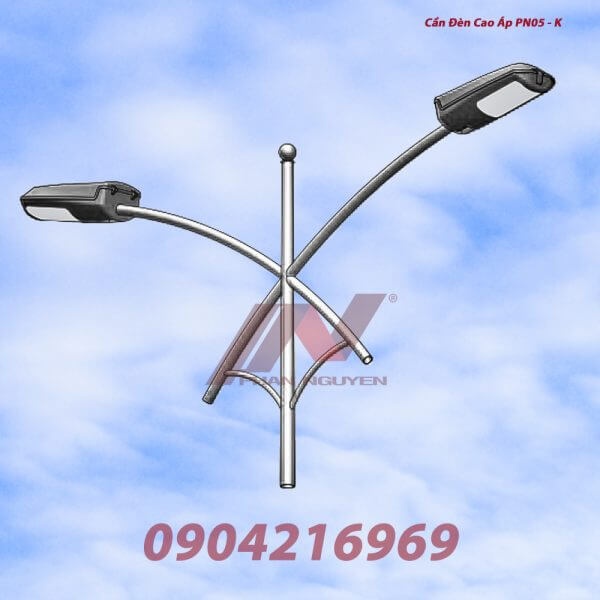 Cần đèn cao áp kép PN05-K