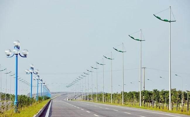 vCột đèn cao áp bát giác rời cần BG11-78 được sử dụng nhiều ở các công trình dân dụng cần nguồn sáng lớn và rộng