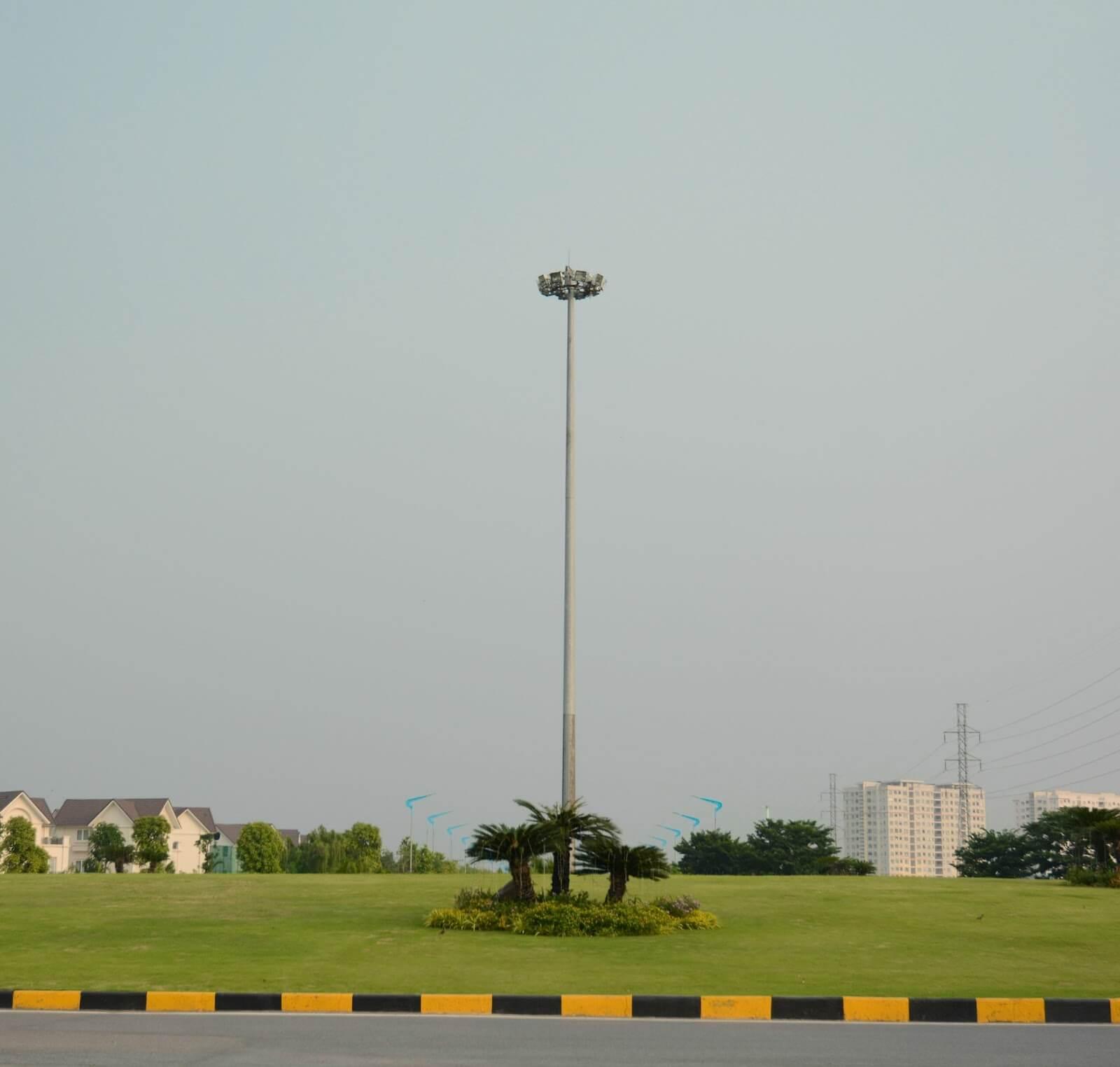 Cột đèn DG25B được nhiều người lựa chọn sử dụng.