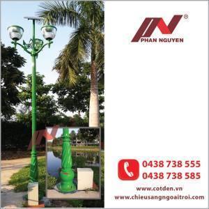 Cột đèn sân vườn năng lượng mặt trời PN 02