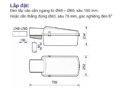 Cách lắp đặt đèn