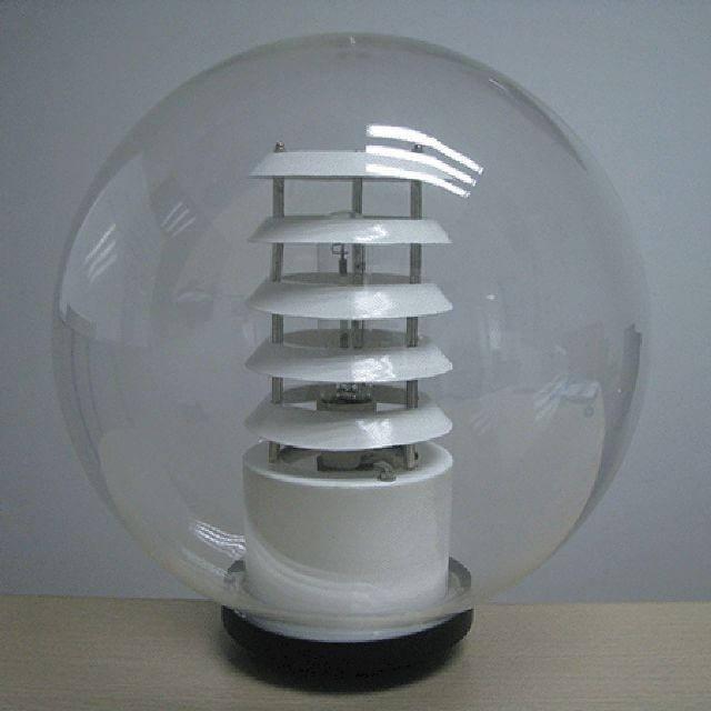 Hình ảnh thực tế sản phẩm đèn cầu trong ( đèn tán quang) PMMA