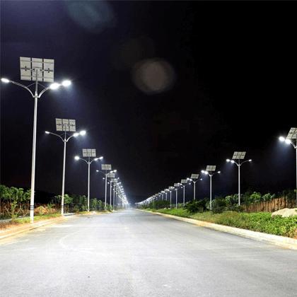 Đèn năng lượng mặt trời được dùng phổ biến