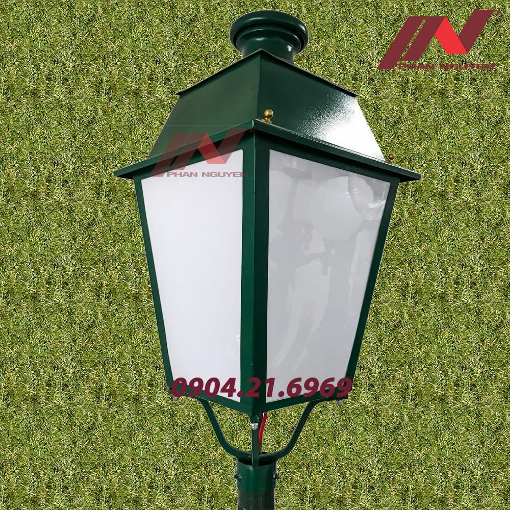 đèn lồng lắp cột đèn sân vườn