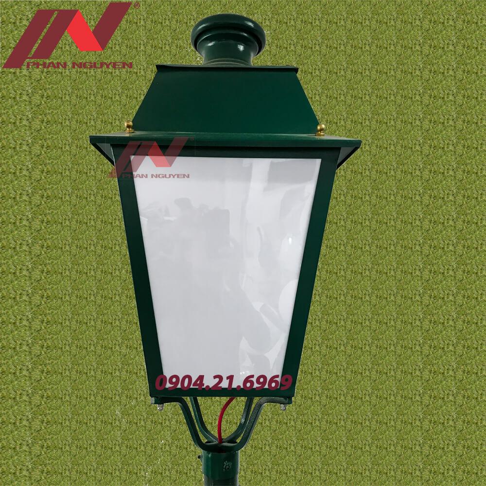 đèn công viên đèn lồng 4 cạnh