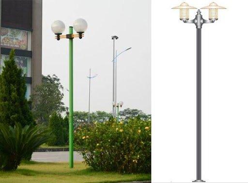 Cột đèn sân vườn Arlequin thân nhôm cao 4.5m có tính thẩm mỹ cao
