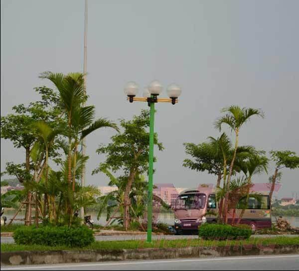 Cột đèn sân vườn Arlequin thân nhôm định hình lựa chọn tối ưu cho mọi công trình