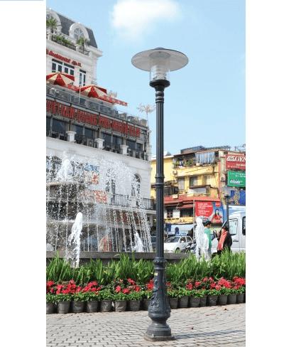 Cột đèn Bamboo sân vườn nhiều ưu điểm vượt trội