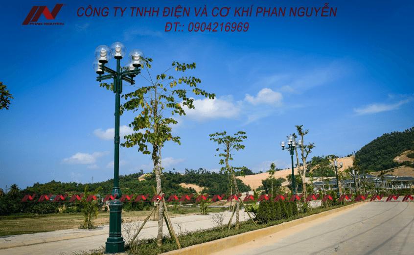 Cột đèn DC05B - cũng là một trong những cột trang trí công viên, sân vườn đẹp