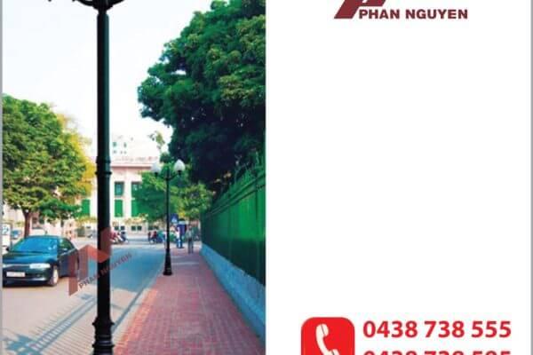 Phan Nguyễn là đơn vị chuyên cung cấp các sản phẩm cột đèn sân vườn