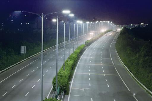 Đèn đường leh có khả năng chiếu sáng tốt với độ rộng ánh sáng lớn