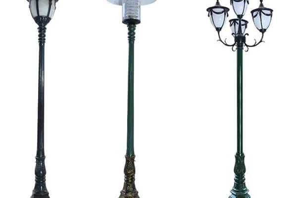 Cột đèn trang trí là sản phẩm được nhiều người lựa chọn.