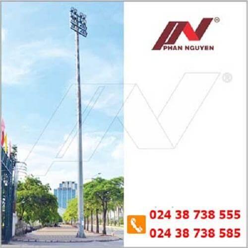 Cột đèn cao áp đạt tiêu chuẩn tại Bến Tre được phân phối bởi Phan Nguyễn