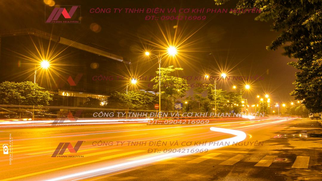 Nhu cầu sử dụng trụ thép, cột đèn cao áp tại Hà Tĩnh ngày càng tăng cao
