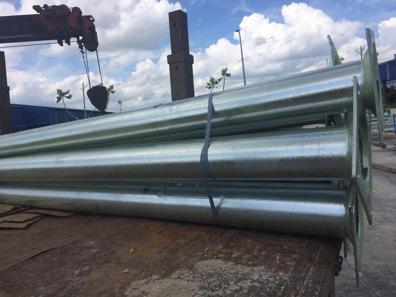 Cột đèn cao áp do Phan Nguyễn cung cấp đạt đầy đủ các tiêu chuẩn chất lượng