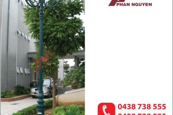 Mẫu cột đèn sân vườn DC06 của Phan Nguyễn