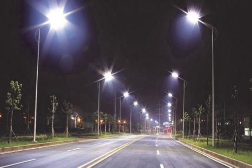 Lợi ích khi sử dụng cột đèn cao áp tại các tuyến đường giao thông