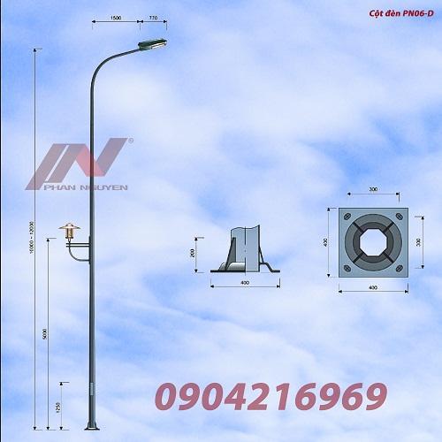 Cột đèn cao áp PN06.