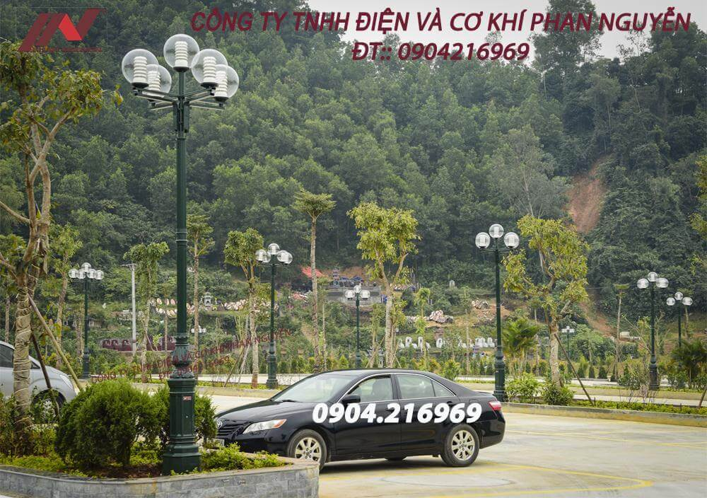Một mẫu cột trang trí sân vườn do Phan Nguyễn cung cấp