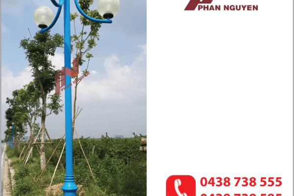 Một mẫu cột đèn sân vườn do Phan Nguyễn phân phối