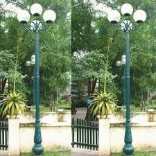 Cột đèn Banian DC07 lắp đèn cầu