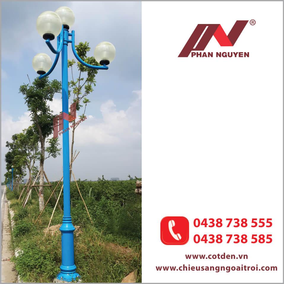 Cột đèn sân vườn Nouvo đa dạng màu sắc và kiểu dáng