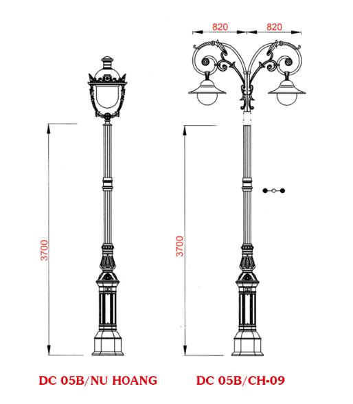 Phan Nguyễn là đơn vị cung cấp tất cả các sản phẩm cột đèn sân vườn chất lượng