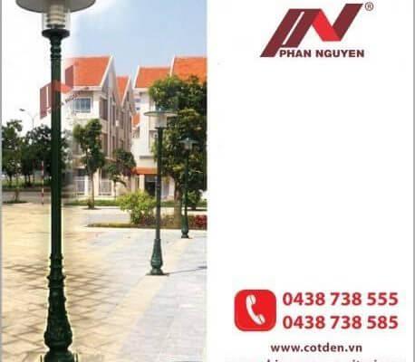Các sản phẩm trụ đèn trang trí tăng thêm phần thẩm mỹ cho ngôi nhà bạnhan Nguyễn