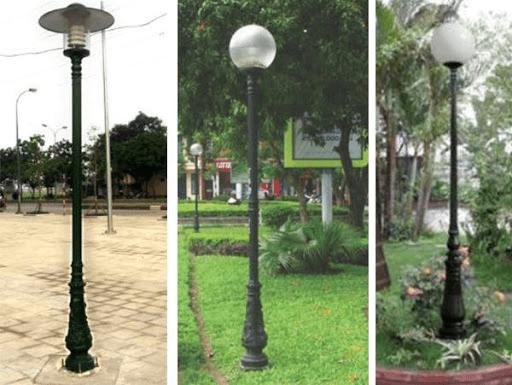Phan Nguyễn công ty sản xuất cột đèn sân vườn chất lượng