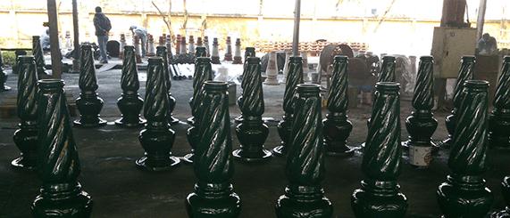 Cột sân vườn làm từ Chất liệu cao cấp, có độ bền cao