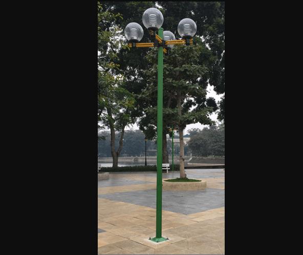 Cột đèn Arlequin được làm từ chất liệu cao cấp, có độ bền cao