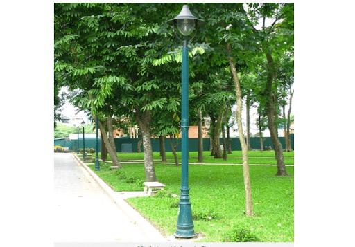 Cột đèn PINE có chất lượng vượt trội nhưng mức giá lại hấp dẫn