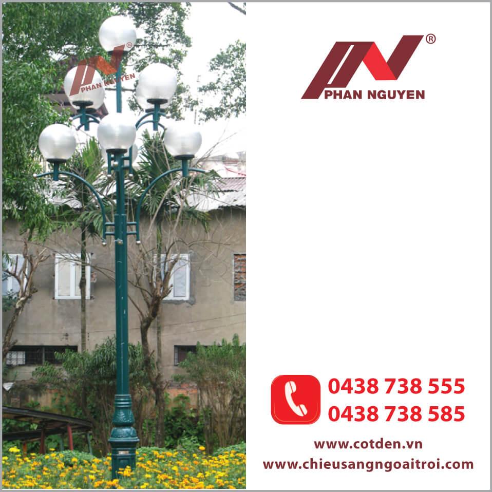 Cột đèn được nhiều người ưu tiên sử dụng hiện nay.