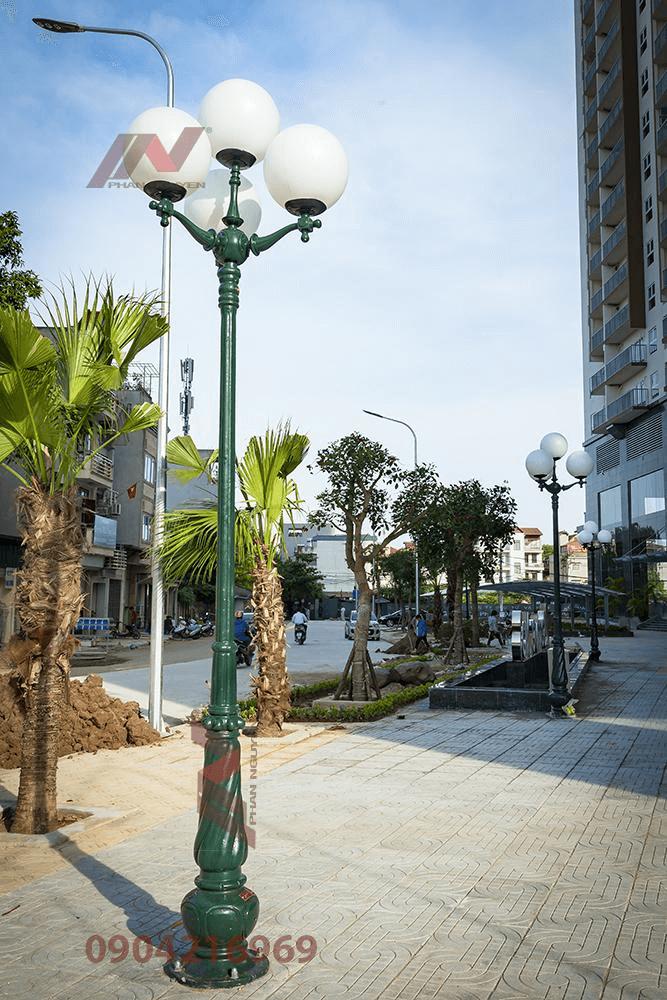 Cột đèn sân vườn ngày càng trở nên phổ biến