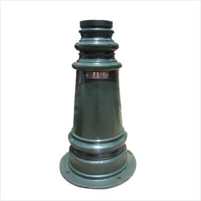 Đế cột đèn PINE được sản xuất từ vật liệu gang đúc